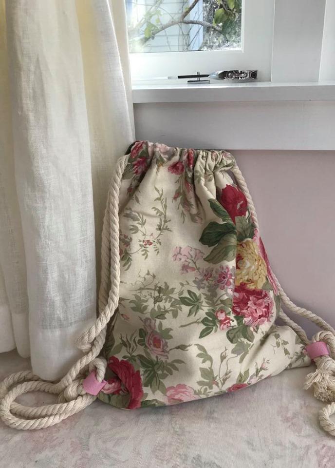 Vintage cotton floral -$45