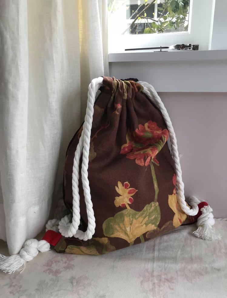'Washington' Upholstery brown floral $45