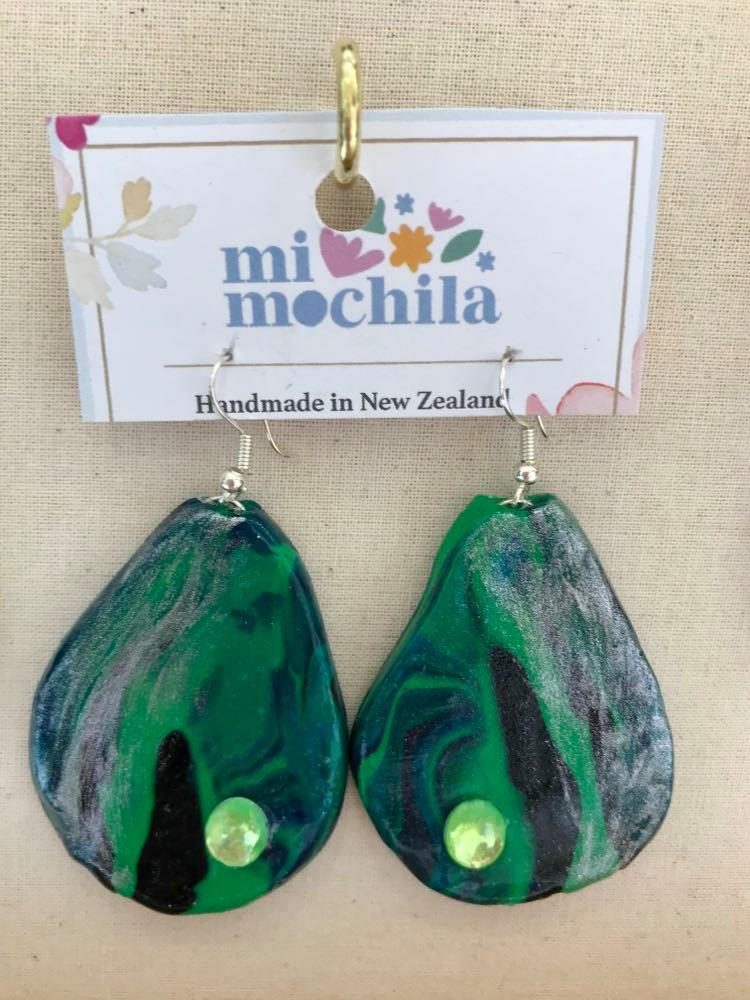 Green oval $15